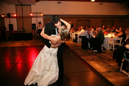 Most couples report that learning to dance for their wedding has been one of